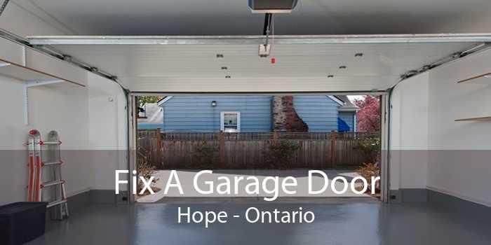 Fix A Garage Door Hope - Ontario