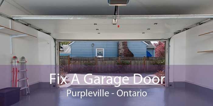 Fix A Garage Door Purpleville - Ontario